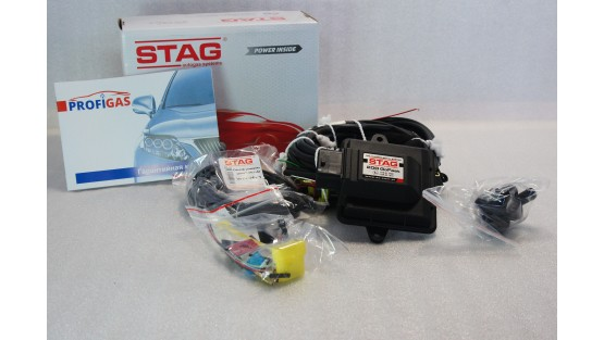 Комплект ГБО 4 Stag 200 Go Fast/ред.Tomasetto Nordic/AEB + баллон 42л.