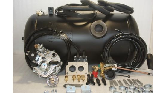 Комплект ГБО 2 Tomasetto на ВАЗ 2101, 2105, 2106, 2107 с баллоном на 50л.(800x300)
