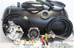 Комплект ГБО 2 Tomasetto карбюратор солекс + 50л.(800х300)