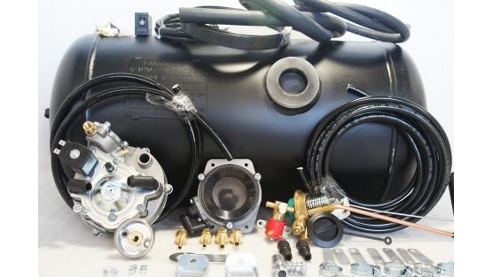 Комплект ГБО 2 Tomasetto карбюратор солекс + 40л.(654х300)