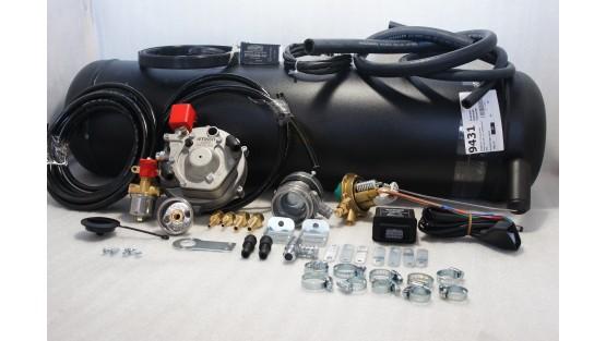 Комплект ГБО 2 Atiker інжектор + 30л. (Під бампер)