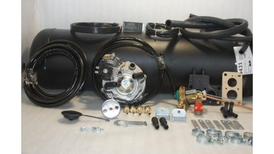 Комплект ГБО 2 Tomasetto карбюратор дааз,озон,вебер + 30л.(под бампер)