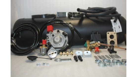 Комплект ГБО 2 Atiker карбюратор солекс + 30л.(под бампер)