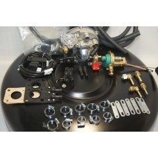 Комплект ГБО 2 Tomasetto карбюратор даас,озон,вебер + 42л.(под запаску)