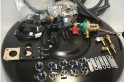 Комплект ГБО 2 Tomasetto карбюратор дааз,озон,вебер + баллон 42л.