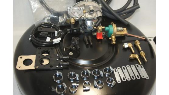 Комплект ГБО 2 Tomasetto карбюратор дааз,озон,вебер + балон 42л.