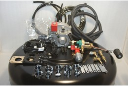 Комплект ГБО 2 Atiker вакуумный, карбюратор солекс + баллон 42л.Новый