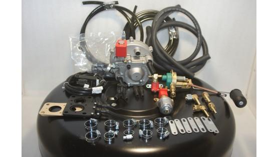 Комплект ГБО 2 Atiker карбюратор дааз,озон,вебер + баллон 42л.Новый