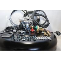Комплект ГБО 2 Tomasetto карбюратор солекс + баллон 42л.Новый