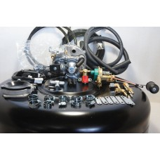 Комплект ГБО 2 Tomasetto карбюратор солекс + 42л.(под запаску)