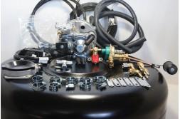 Комплект ГБО 2 Tomasetto карбюратор солекс + баллон 42л.