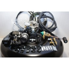 Комплект ГБО 3 Tomasetto инжектор + 42л.(под запаску)