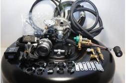 Комплект ГБО 2 Tomasetto інжектор + балон 42л.