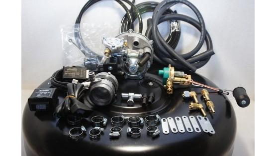 Комплект ГБО 2 Tomasetto інжектор на Daewoo Sens (Сенс) + балон 42л.