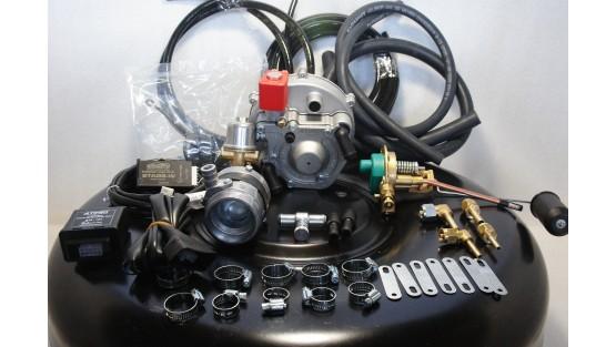 Комплект ГБО 2 Atiker инжектор + баллон 42л.