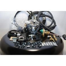 Комплект ГБО 2 Tomasetto моноинжектор Bosch (VW) + баллон новый 42л.