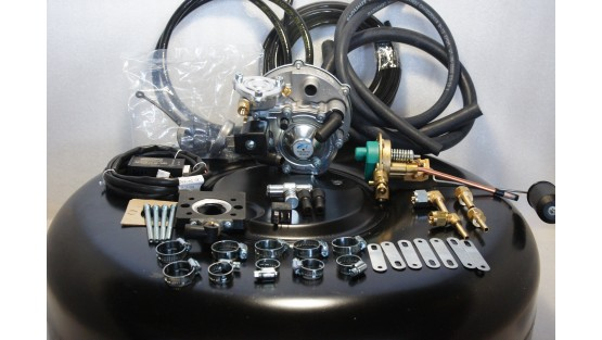 Комплект ГБО 2 Tomasetto моноінжектор Bosch (VW) + балон 42л.
