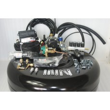 Комплект ГБО 4 Stag Q-Box Basik/ред.Stag r02/форс.Stag w 01 + 42л(под запаску)