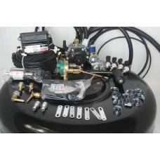 Комплект ГБО 4 Stag Q-Box Basik/ред.Stag r02/Hana + 42л(под запаску)