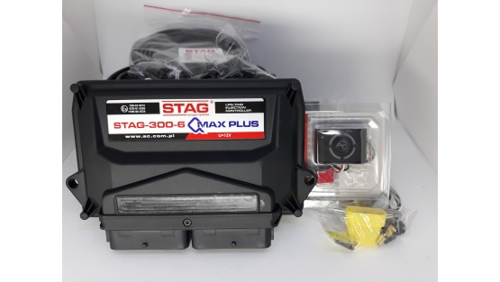 Комплект ГБО 4 на 6 цил Stag QMax Plus/KME Silver/Barracuda + баллон 42л.Новый