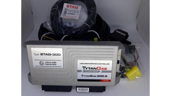 Электроника Stag-300 Tytan Gas на 8 цилиндров