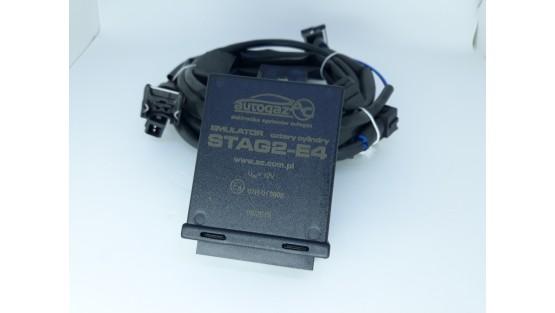 Эмулятор форсунок Stag2-E4 с разъемами Europa/Bosch 4 цилиндра