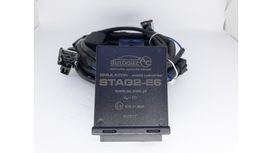 Эмулятор форсунок Stag2-E6 с разъемами Europa/Bosch 6 цилиндров