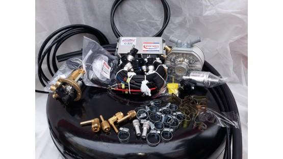 Комплект ГБО 4 на TSI/FSI Stag DPI 400/KME Silver/Hana + баллон новый 42л.