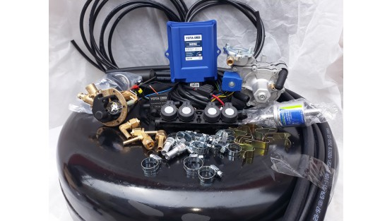 Комплект ГБО 4  Yota Blue/ред.Tomasetto Alaska/форс.AEB + баллон 42л.Новый