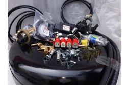 Комплект ГБО 4 Stag 200 Go Fast/ред.Stag r02/форс.Valtek + балон 42л.