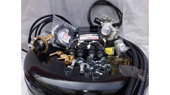 Комплект ГБО 4 Stag Q-Box Basic/ред.Alex Shark/AEB + балон 42л.
