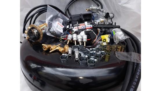 Комплект ГБО 4 Stag Q-Box PLUS/ред.Tomasetto Nordic/Magic FX + баллон 42л.Новый