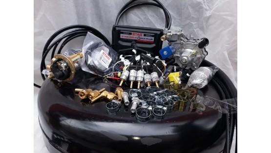 Комплект ГБО 4 на 6 цил Stag QMax Plus/Tomasetto AT 13 XP/Magic FX + балон 42л.