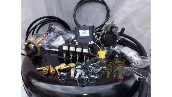 Комплект ГБО 4 Lpg Tech One/ред.Stag r02/Hana + баллон 42л.