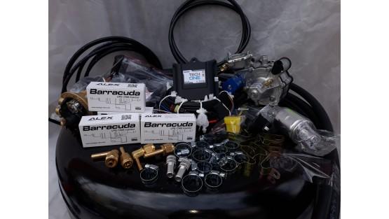Комплект ГБО 4 Lpg Tech One/ред.Tomasetto Nordic/Barracuda + баллон 42л.Новый