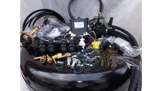Комплект ГБО 4 Lpg Tech One/ред.Stag r02/AEB + баллон 42л.