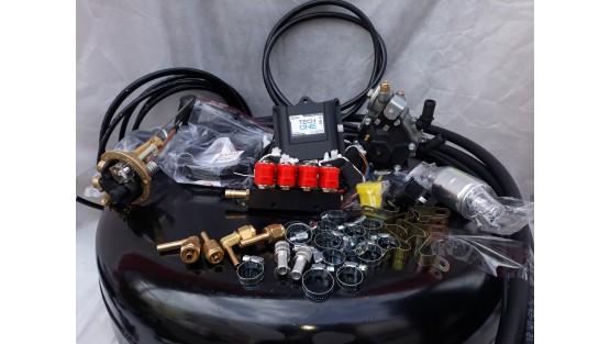 Комплект ГБО 4 Lpg Tech One/ред.Stag r02/Valtek + баллон 42л.Новый