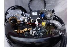 Комплект ГБО 4 Lpg Tech One/ред.Tomasetto Nordic/Magic FX + балон 42л.