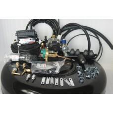 Комплект ГБО 4 Stag Q-Box Basik/ред.Stag r02/AEB + 42л(под запаску)