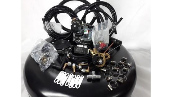 Комплект ГБО 2 Yota карбюратор солекс + баллон 42л.Новый