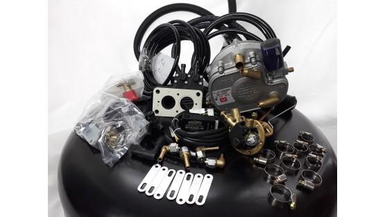 Комплект ГБО 2 BRC карбюратор дааз,озон,вебер + баллон 42л.