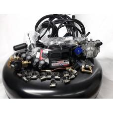 Комплект ГБО 4 Stag Q-Box PLUS/ред.Tomasetto Nordic/AEB + баллон б.у. 42л.