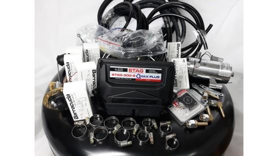 Комплект ГБО 4 на 8 цил Stag QMax Plus/HL Magic/Barracuda + баллон 42л.Новый