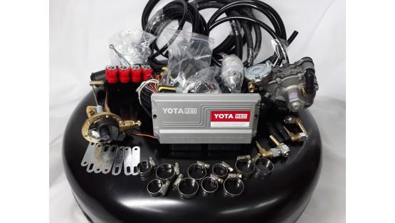 Комплект ГБО 4  Yota Red/ред.Tomasetto Nordic/форс.Yota Red + балон 42л.