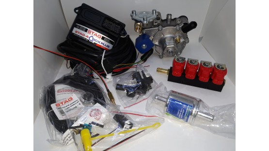 Миникомплект Stag QBox-Plus/Tomasetto Nordic/Valtek
